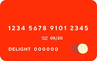 DoorDash Official Red Card USPS FIRST CLASS SHIPPING! Same Day Card Numbers