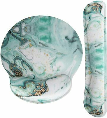 "Nice Mousepad 9"" Pain Relief Luxury Arm Rest Marble Abstract Modern Boho"