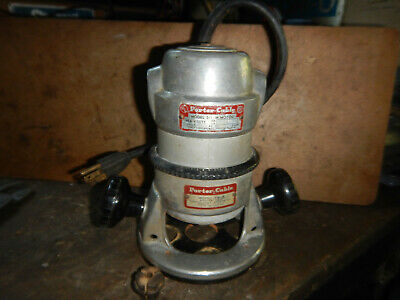 """Vintage Porter Cable Router 511 With Base 1/4"""" Collet"""
