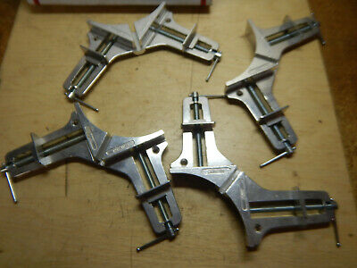 4 Pony 9166 Corner Clamps Woodworking Picture Frame Tooling