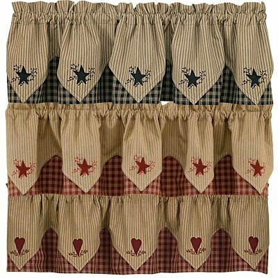 Sturbridge Embroidered Point Valance