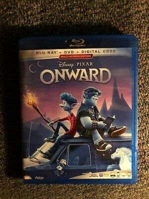 Onward Blu-Ray/DVD Combo (Disney 2020)