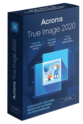 Acronis True Image Backup 2020 - LIFETIME - Fast Delivery