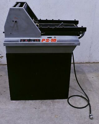 Pierce PS-10 Suction-Feed Rotary Numbering Machine w/ Accessories + Manual