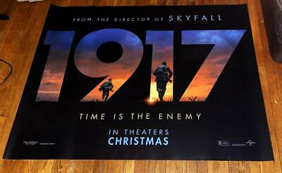 1917 5Ft Subway Movie Poster 2019 Ww1 Wwi