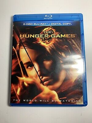 The Hunger Games (Blu-ray Disc, 2012, 2-Disc Set) Free Shipping!