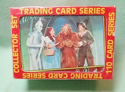 Wizard of Oz Complete Set 110 Cards Boxed 1990