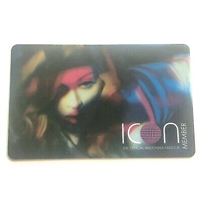 MADONNA CONFESSIONS ICON CARD PROMO LIMITED RARE NOT Lot X Tour DVD Vinyl CD SEX
