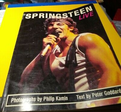 Springsteen Live Photo Book