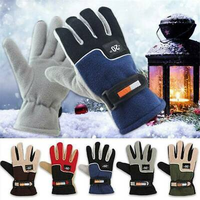 Outdoor Sport Ski Waterproof Windproof Winter Warm Mittens Touch Screen Gloves ~