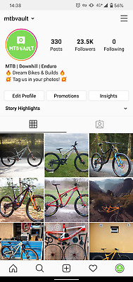 Instagram Account 23k Mountain Biking Sports