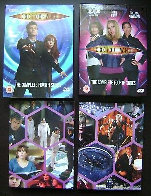 Doctor Who The Complete Fourth Serie Coffret 6 Dvd Edition Us
