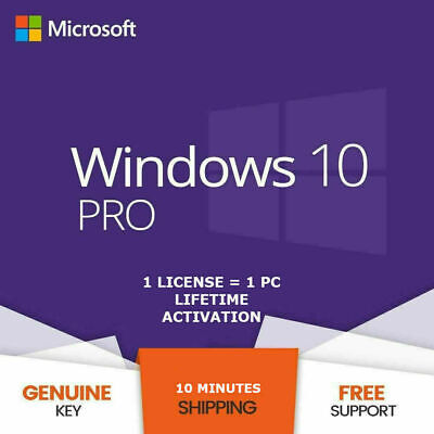 Windows 10 Pro 32 | 64-Bit Gene Acivation Key License Download Link ⚡️💥