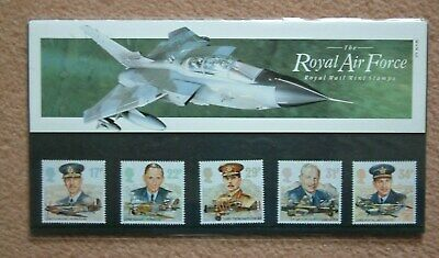 UK Royal Mail 1986 Royal Air Force Mint Stamps Presentation Pack