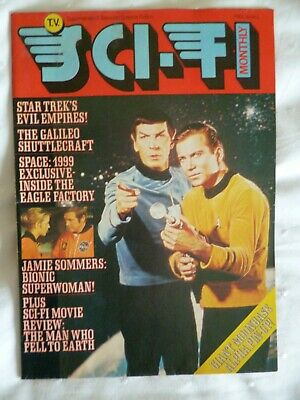 Collectable Vintage Sci-Fi Monthly Magazine Vol 3 1976