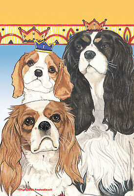 Pipsqueak House Flag - Cavalier King Charles Spaniel 49820