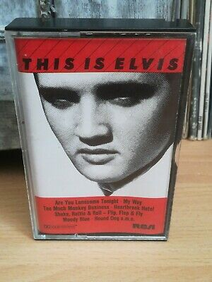 Orginal Musikkasette, Tape, Mc / This Is Elvis.... Elvis Presley
