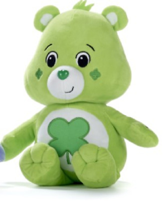 "New Official 12"" Care Bear Good Luck Bear Soft Plush Toy"