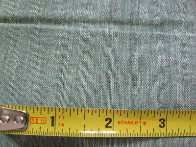 Vintage heathery green quilting weight cotton