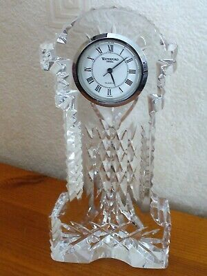 Waterford Crystal Miniature Grandfather Clock A/F