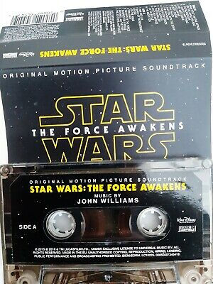 Star Wars-The Force Awakens-Soundtrack-MC-Musikkassette-Tape-Cassetten