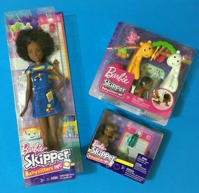 Barbie Skipper Babysitters Inc Nikki Doll and  2 Babies UPC 887961803549 FHY99