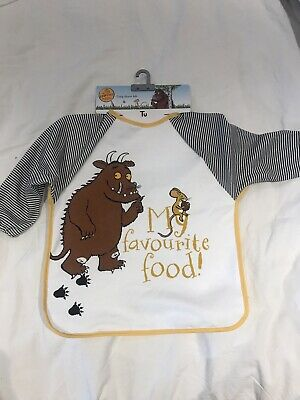 Baby's The Gruffalo Long Sleeve Bib One Size New