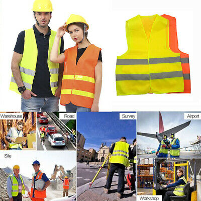 weight Flexible Reflective Vest Safety Stripes Stripes Jacket High Visibility