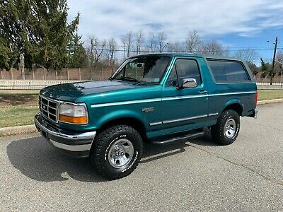 1996 Ford Bronco ONLY 88K ACTUAL MILE SURVIVOR! 1996 Bronco XLT Only 88k Actual Miles! BEAUTIFUL SURVIVOR!
