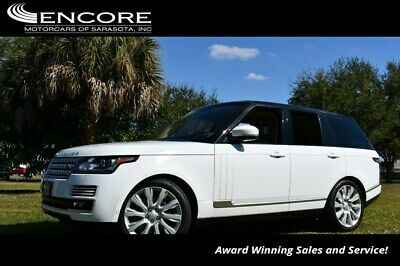 2016 Land Rover Range Rover 4WD 4 Door Supercharged SUV W/Driver and Vision As 2016 Range Rover SUV 25,996 Miles With warranty-Trades,Financing & Shipping
