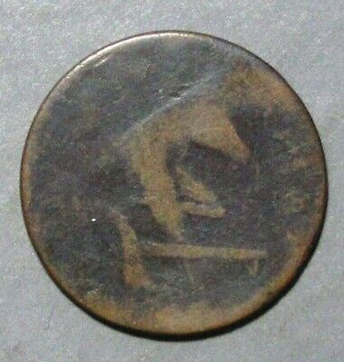 New Jersey Copper ~ 178?~Poor Condition..