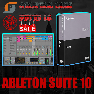 Ableton Live 10 Suite 2020 🔑 LIFE TAME 🔥 WINDOWS & MAC 🔥