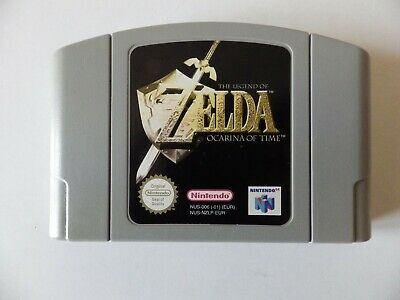 jeu  Nintendo 64  ZELDA the légend of ocarina of time  Version PAL EUR