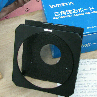 genuine special Wista  Lens board  for compur copal 0  214544 boxed & instructio