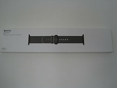 BRAND NEW Apple Apple Woven Nylon Black for Apple Watch 38mm MM9L2AM/A FREE SHIP