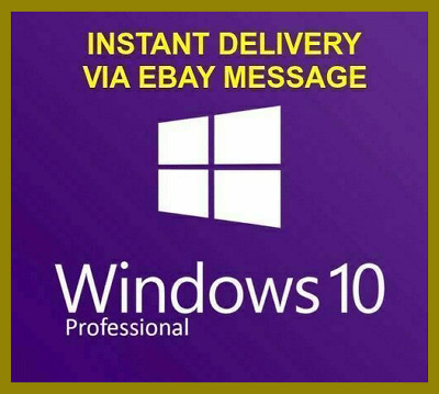 Instant Delivery Windows 10 Pro Professional Key Lifetime