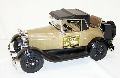 Jim Beam Decanters 1928 Ford Model A Rumble Seat Cabriolet Tan & Black