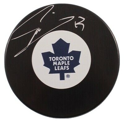 Mat Sundin Signed Hockey Puck With Authentication