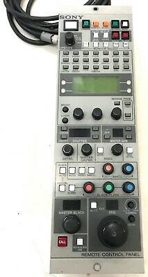 Sony RCP-TX7 Remote Control Panel w/ CCA-7 cable