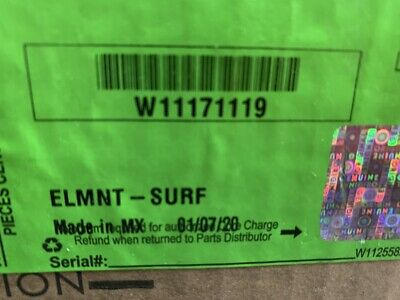 Whirlpool Element W11171119/Oem/Brand New