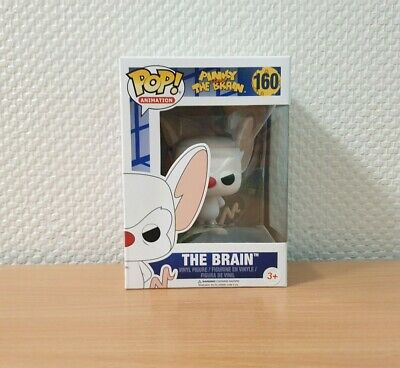 The Pinky and The Brain Show POP! Animation #160 The Brain Vinyl Figur Funko