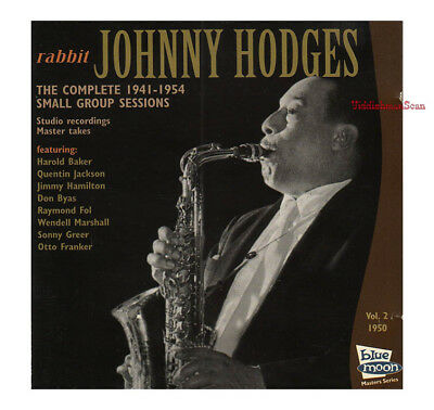 JOHNNY HODGES Complete 1941 - 1954 Small Group Sessions Vol. 2 jazz VG Don Byas