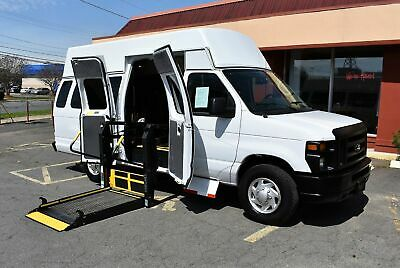 2013 Ford Handicap 2 Position VERY NICE HANDICAP ACCESSIBLE WHEELCHAIR LIFT EQUIPPED VAN....UNIT# 2302FT