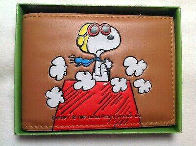 "Vintage Snoopy Wallet 1965 ""The BUTTERFLY ORIGINALS"" MINT IN BOX"