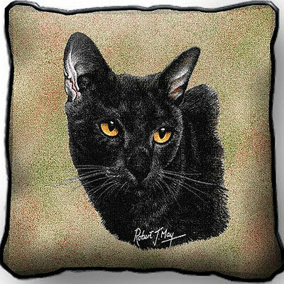 "17"" x 17"" Pillow Cover - Bombay Cat 1959"