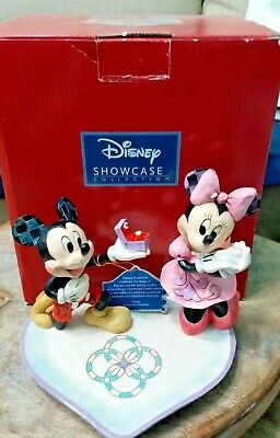 Jim Shore Disney Traditions A Magical Moment - Mickey Proposing to Minnie New