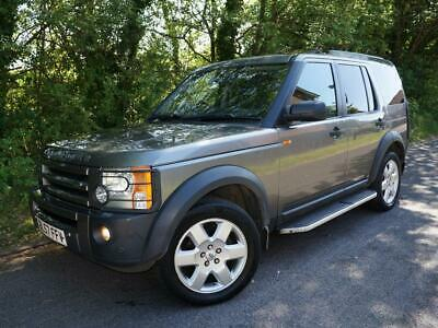 2007(57) Land Rover Discovery 3 2.7 Tdv6 Automatic Hse 7 Seater Diesel Grey