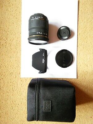 Sigma 18-50mm F2.8 EX DC AF - Nikon DX Fit Lens with case, hood & protect filter