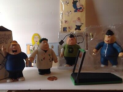 Family Guy Mezco Figures Chris Lot of 4 Different Versions Loose 2005 Toy Fair