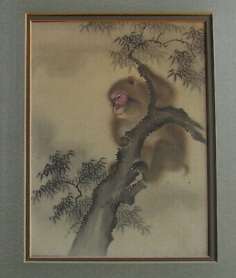 Antique Painting Japanese Moneys after/by Mori Sosen 森 狙仙,